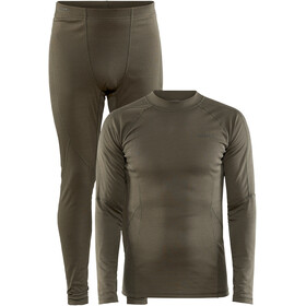 Craft Core Warm Baselayer Set Heren, dark olive